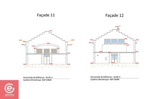 Exemple de plan de facade