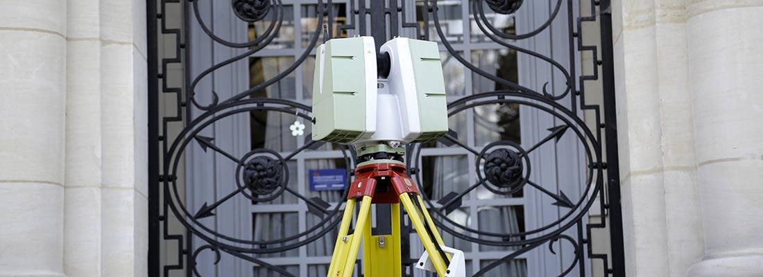 scanner 3d geometre expert