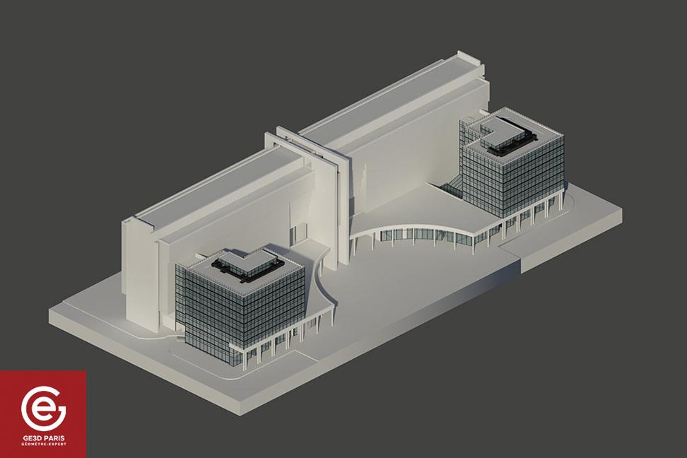 Maquette 3D