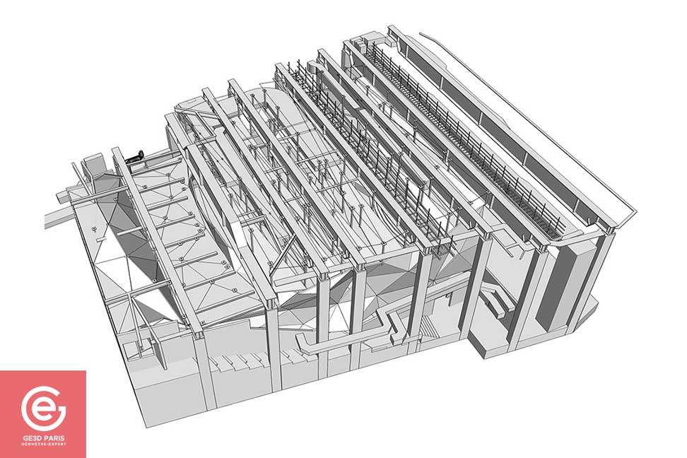 Maquette 3D GE3D